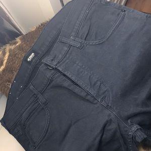 Hudson Byron mens straight leg jeans dk blue. Sz36